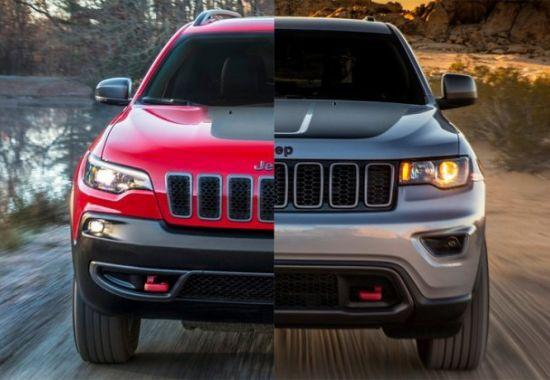 Nowy Jeep Cherokee a Jeep Grand Cherokee - Miejski i terenowy SUV